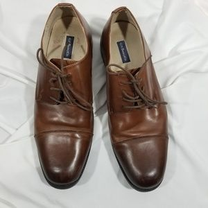 Men's Bass Brown Cleaver oxfords sz 11